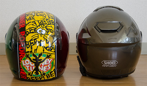 SHOEI GT-AirとX-9(5)