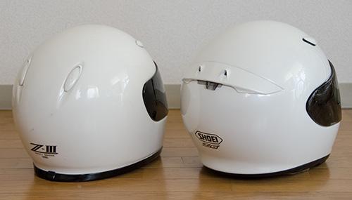 SHOEI Z-3とZ-6(2)