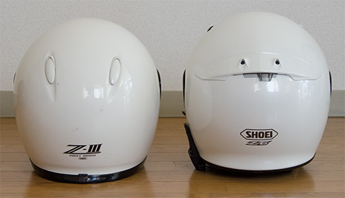 SHOEI Z-3とZ-6(4)