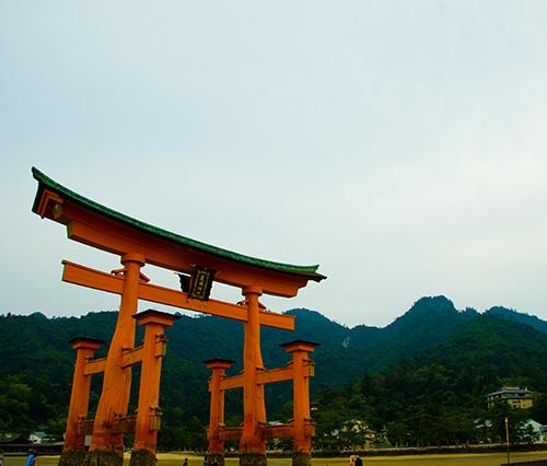 厳島神社鳥居3
