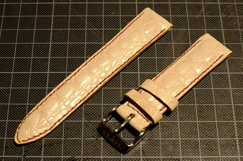 LIMES用手縫の革ベルト3