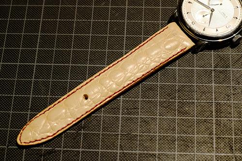 LIMES用手縫の革ベルト4