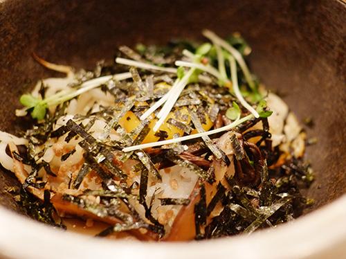帯広平和園鮭茶漬け
