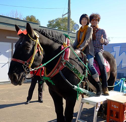 ばんえい競馬の馬