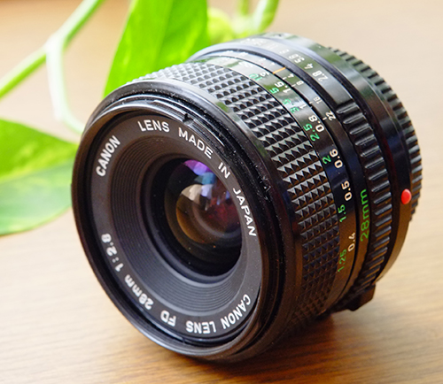 New FD28mm f2.8