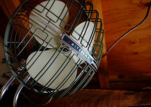 『ビラパワ』の扇風機