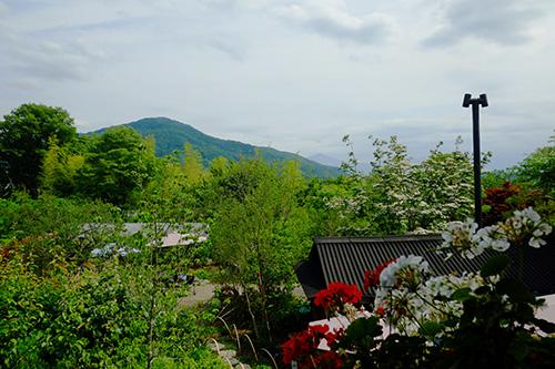 『ビラパワ』二階からの景色