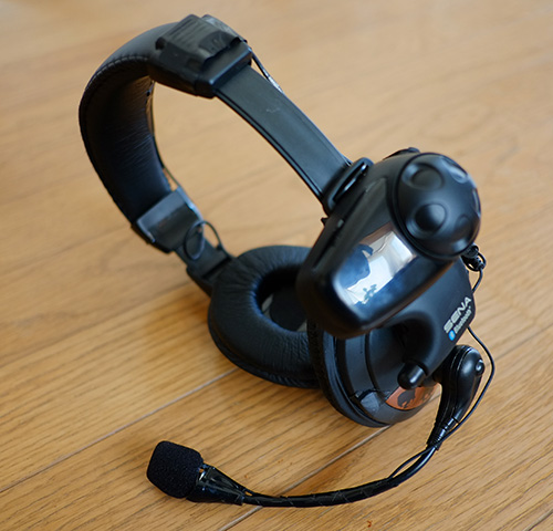 中華製ヘッドホン改造Bluetoothインカム/ピット用