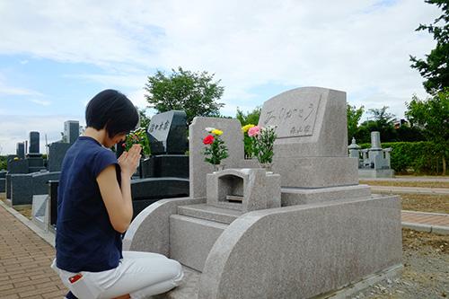 2015お盆墓参り