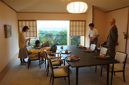 ホテル日航東京/喜寿お祝い食事1