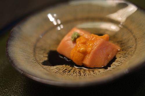 ホテル日航東京/喜寿お祝い食事2