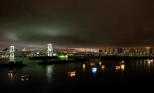 ホテル日航東京/部屋からの夜景