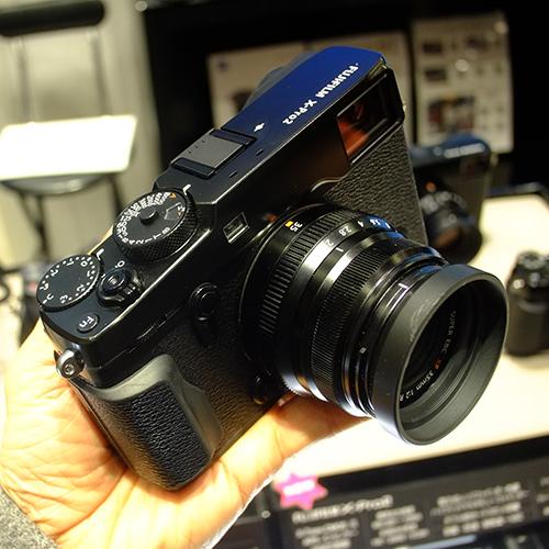X-Pro2発表。フジフイルムスクエアにて