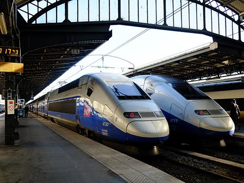 TGV/パリ東駅