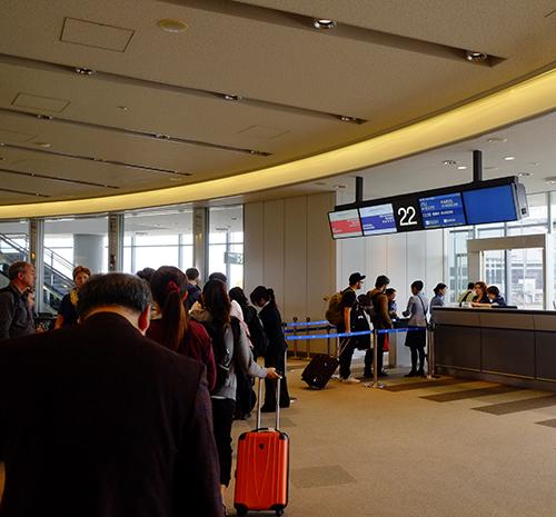 成田空港/アエロフロートSU261便搭乗ゲート