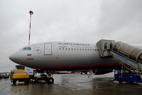 アエロフロート/SU261便モスクワ到着