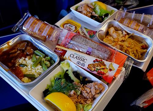 アエロフロート/SU261便パリ行き機内食