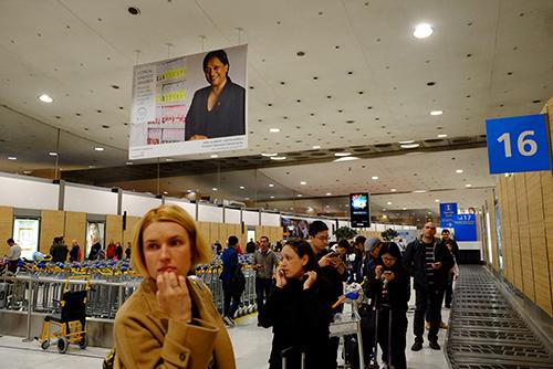 パリ・CDG空港/バゲージエリア2