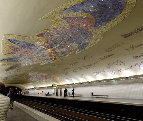 パリ・メトロ/クルニー・ラ・ソルボンヌ駅