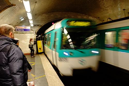 パリのメトロ13号線