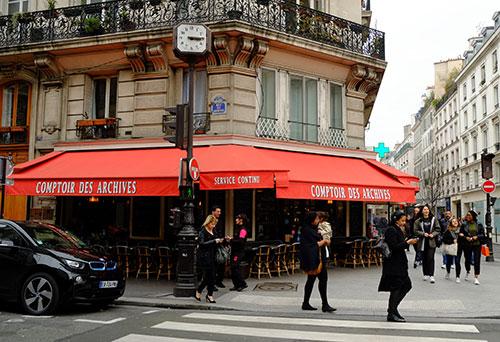 パリでランチしたカフェ