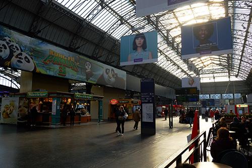パリ東駅コンコース