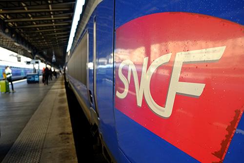 パリ東駅TGV1