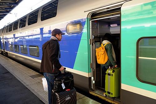 パリ東駅TGV2