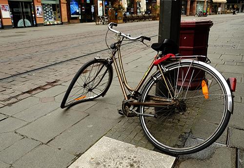 ストラスブール/街中散策3自転車