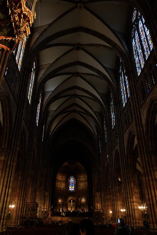 ストラスブールの大聖堂/礼拝堂内2