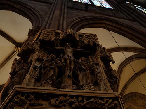 ストラスブールの大聖堂/礼拝堂内3