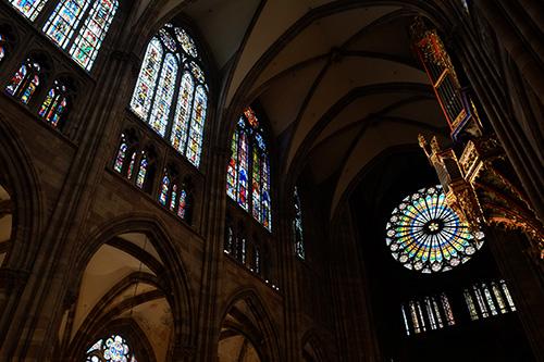 ストラスブールの大聖堂/礼拝堂内4