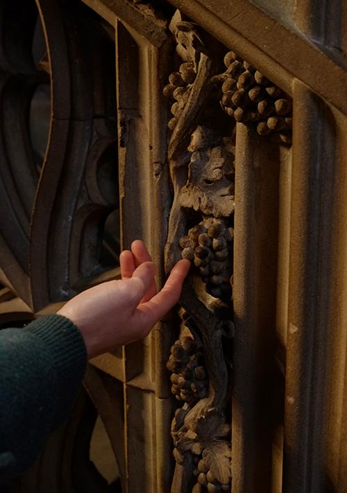 ストラスブールの大聖堂/礼拝堂内5