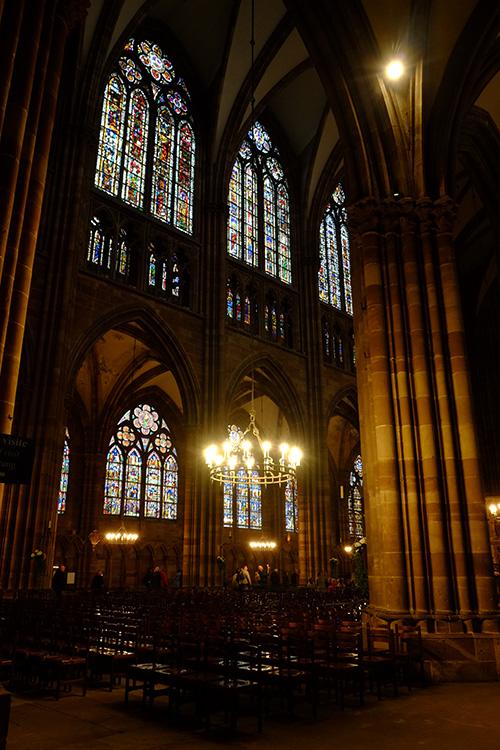 ストラスブールの大聖堂/礼拝堂内7