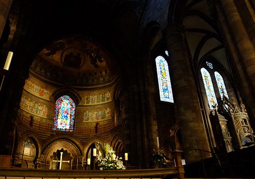 ストラスブールの大聖堂/礼拝堂内8