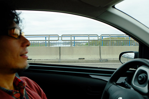 フランスとドイツの国境の橋
