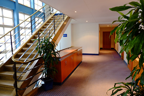シュトゥットガルトのホテル/エレベーター・ホール