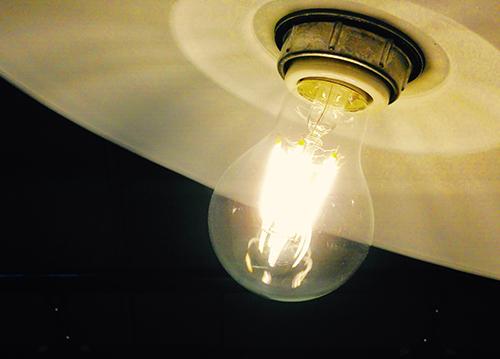 クッタリーナ看板/LED電球2