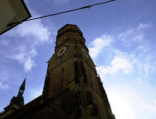 シュトゥットガルト/フランスから来た娘達と出会ったところの塔