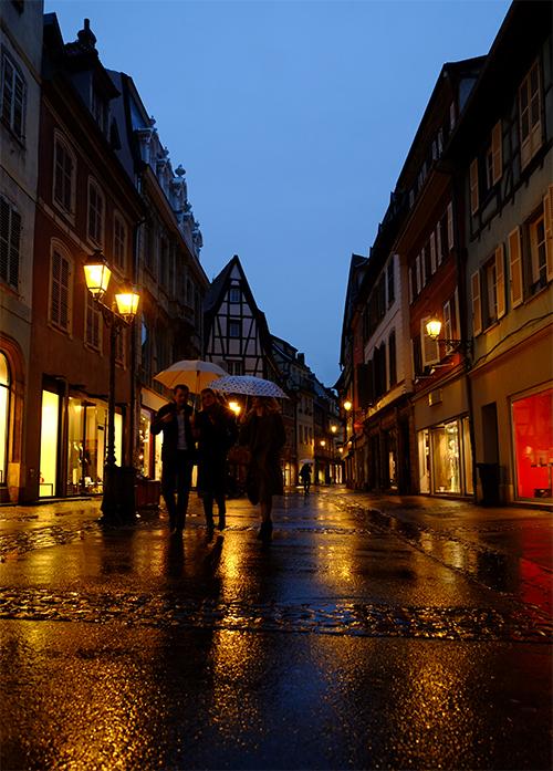 夜の雨のコルマール4