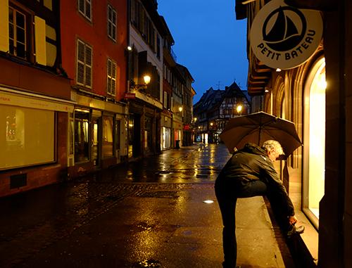 夜の雨のコルマール5