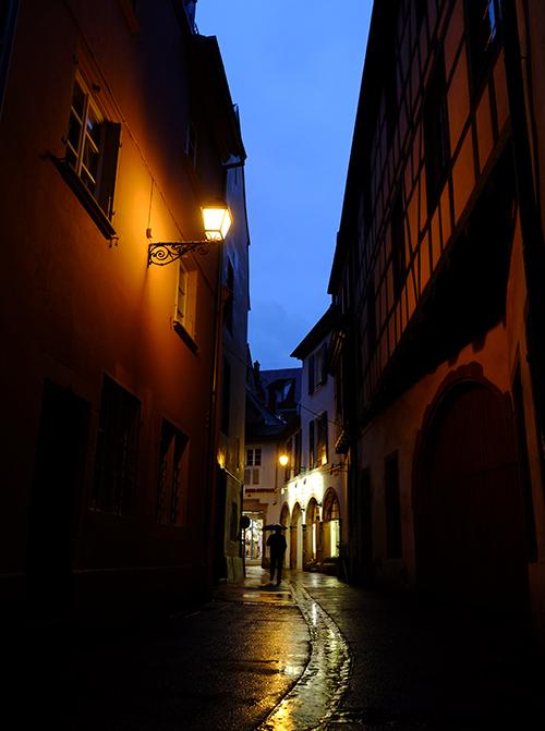 夜の雨のコルマール6