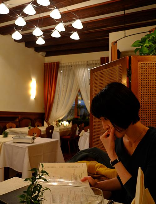 コルマール初日夕食/レストラン2