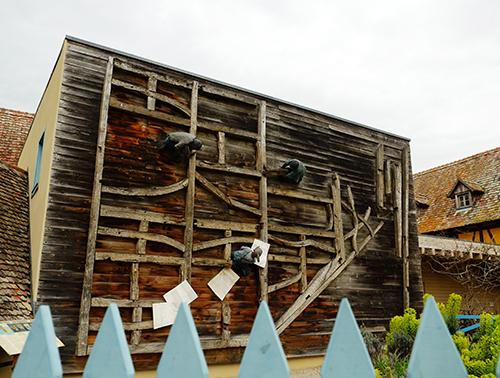 エコミュゼ/建築の様子のオブジェ