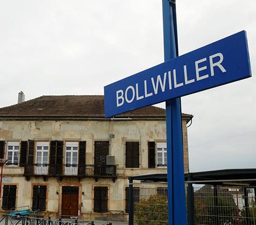ボルウィラー駅/出発1
