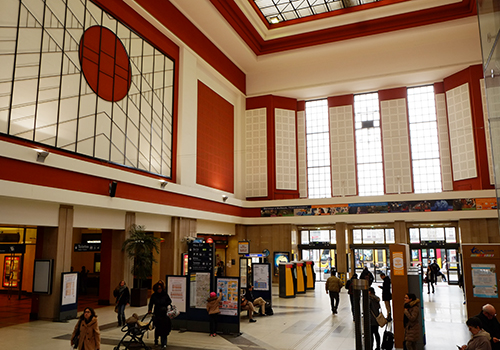 ミュルーズ駅エントランスホール