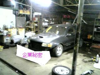 ある日のガレージ