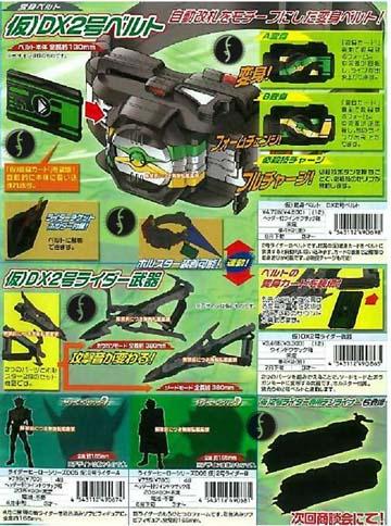 仮面ライダーゼロノスベルトと武器