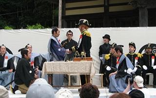 黒船祭下田条約調印