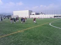2005年9月市民女子サッカー教室にて
